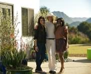 Samata Angel, Suzy Amis Cameron and Valentina Delfino