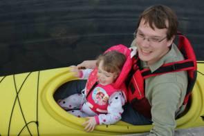 First Kayak with my Daughter on Lake Banook