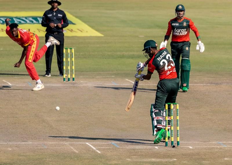 जिम्बाब्वेसँगकाे पहिलाे टी–२० बङ्गलादेशले आठ विकेटले जित्याे