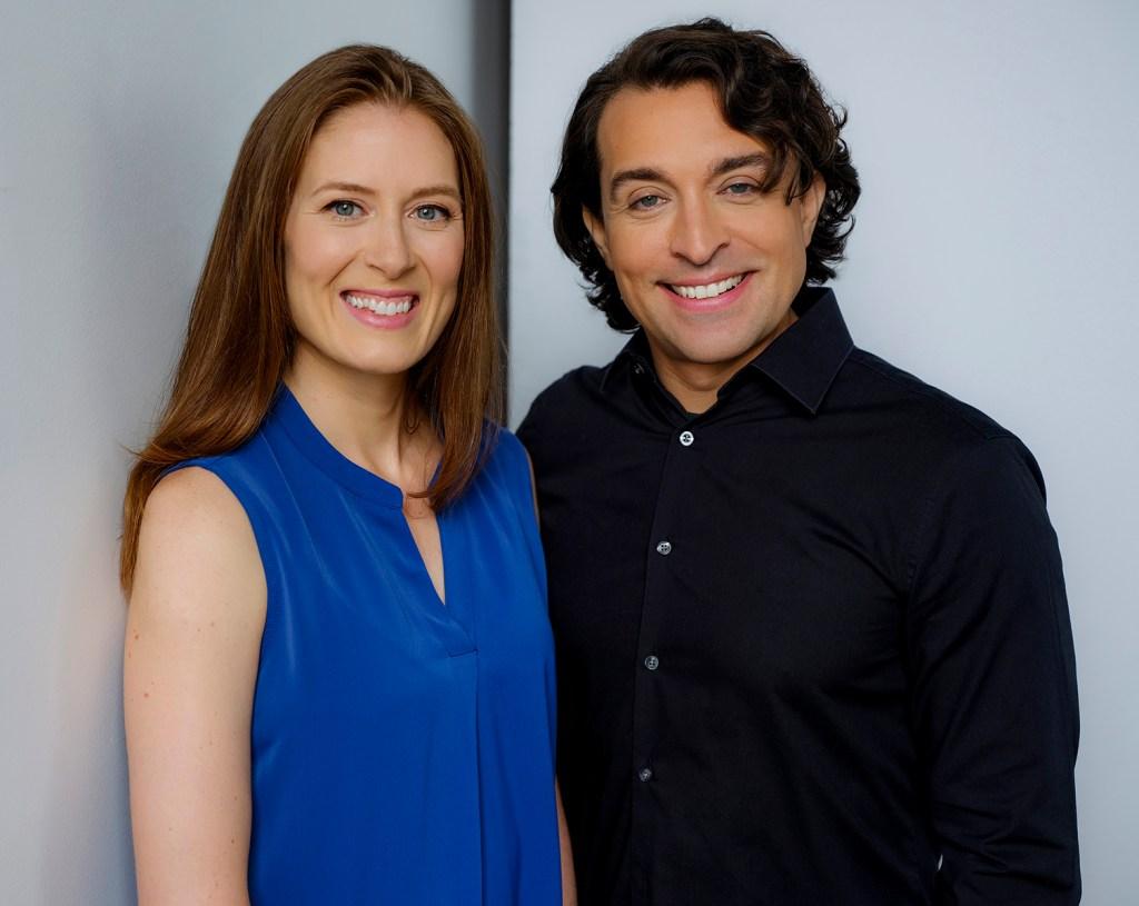 Kate Spanos and Pablo Regis de Oliveira