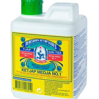 Ketjap-Kaki-Tiga-Medja-No1-can-500-ml-