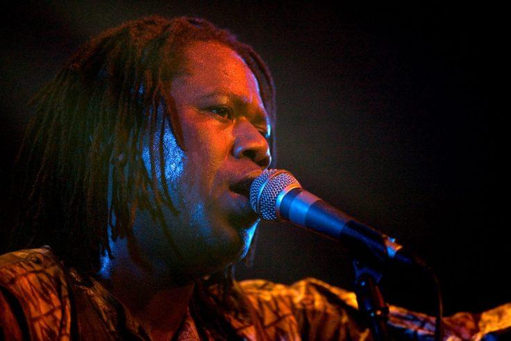 Samba Sene (live 1) - photo by marc marnie