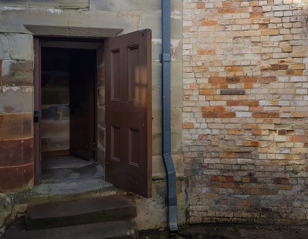 Entrance to isolation cell at Port Arthur Separate Prison