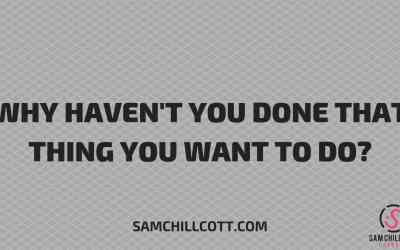[VIDEO] Why Haven't You Done That Thing You Want To Do? (How To Overcome Procrastination)