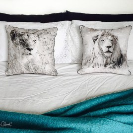 Lioness Cushion Cover