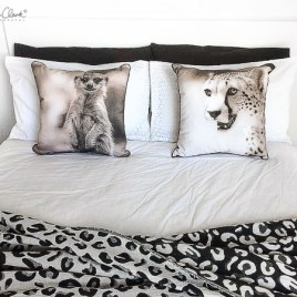 Cheetah Cushion Cover