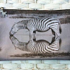 Zebra Mzuri (beautiful) bag