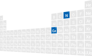 GaN Periodic Table