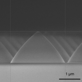 Patterned Sapphire Substrate (PSS) by dry etching