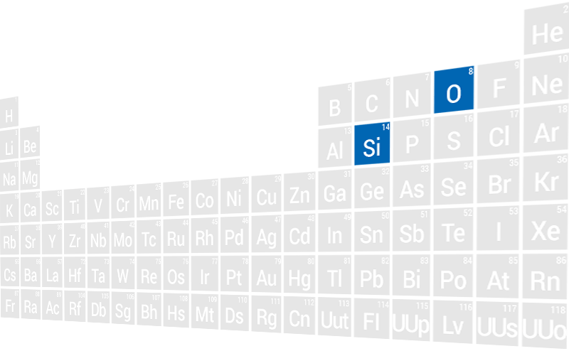 Periodic Table (SiO2)
