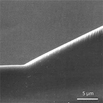 Glass Microlens Fabrication