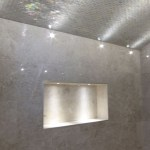 Wetroom lighting by Sam Coles Lighting