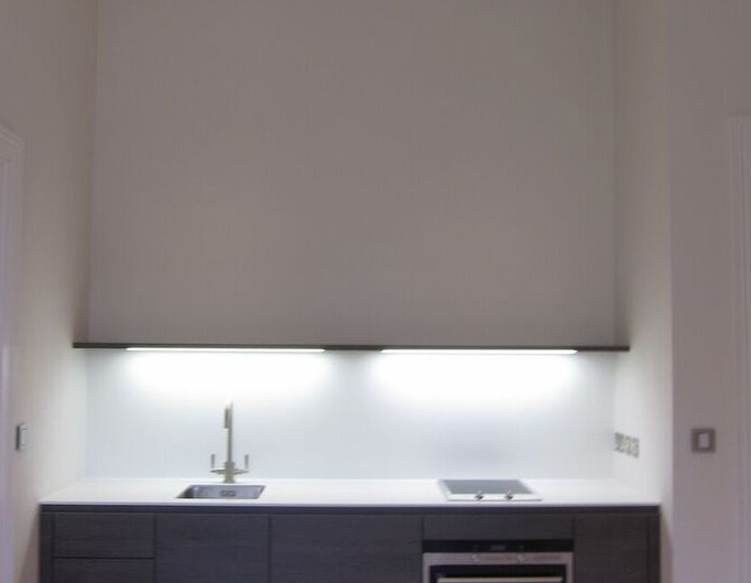 Cooker lighting by Sam Coles Lighting