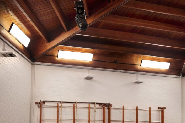 Gymnasium lighting by Sam Coles Lighting 06