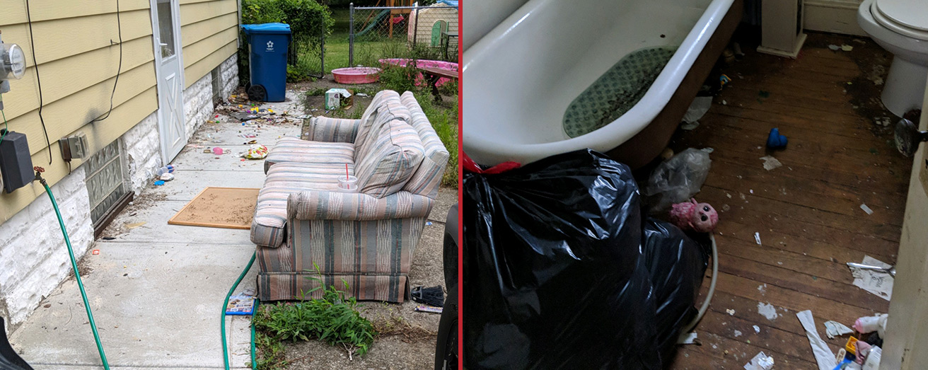 whole house junk removal services for landlords and renal properties