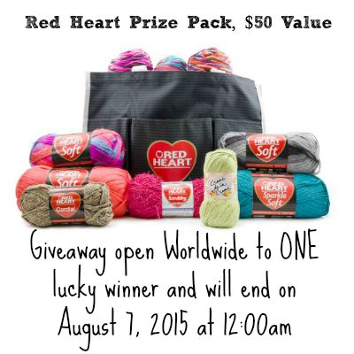 Red Heart Yarn Giveaway!