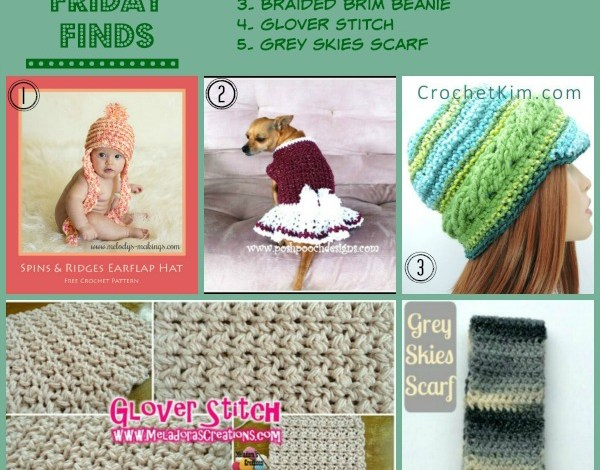 Crochet Friday Finds