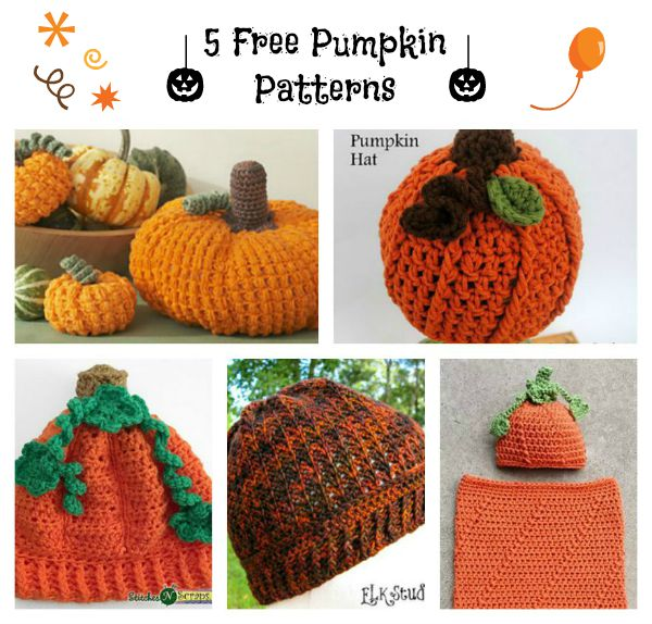 Free Pumpkins Collage