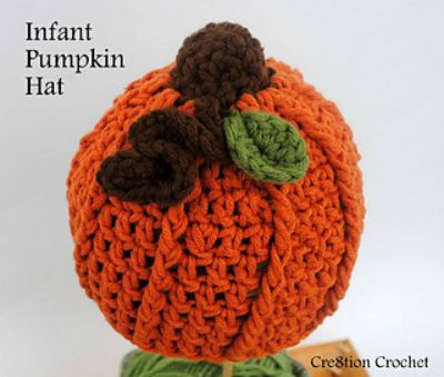 Infant Pumpkin Beanie