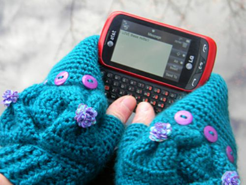 The Xanadu Texting Mittens