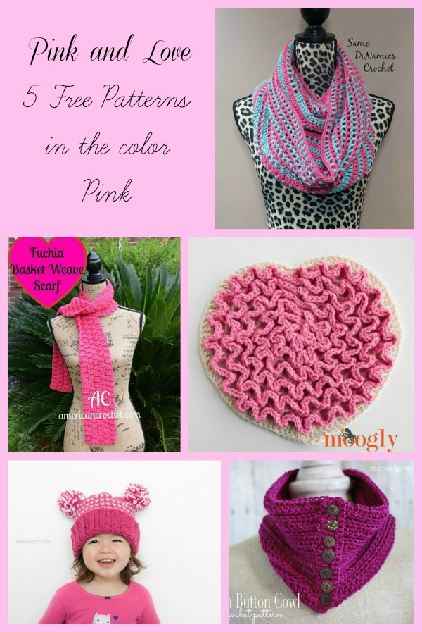 Pink and Love Collage