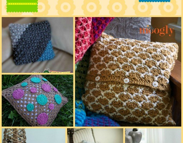 Pillows and Pillow Covers Pattern Compilation
