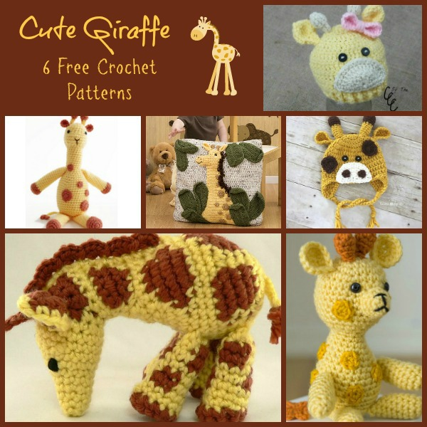 Giraffe Collage