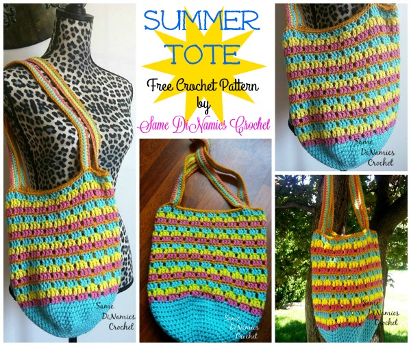 Summer Tote Collage