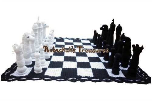 Chess Set Pattern