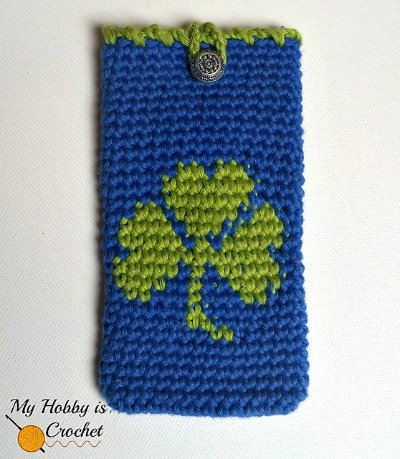 Shamrock Phone Cozy
