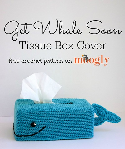 Get Whale Sooner Tissue Box Cover