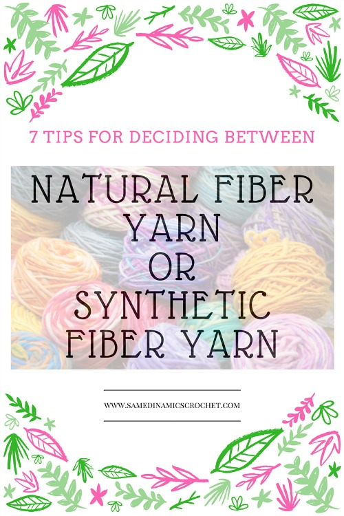 Natural Fiber Yarn or Synthetic Fiber Yarn