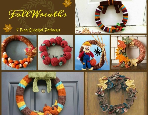 Fall Wreaths Pattern Compilation