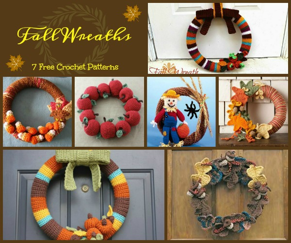 The fun and Fall inspired wreaths will decorate your door and have your neighbors asking where they can get one.