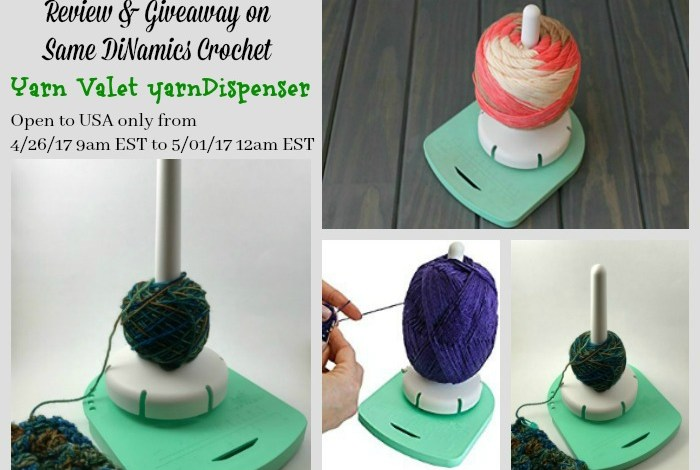 Yarn Valet Yarn Dispenser Review & Giveaway!