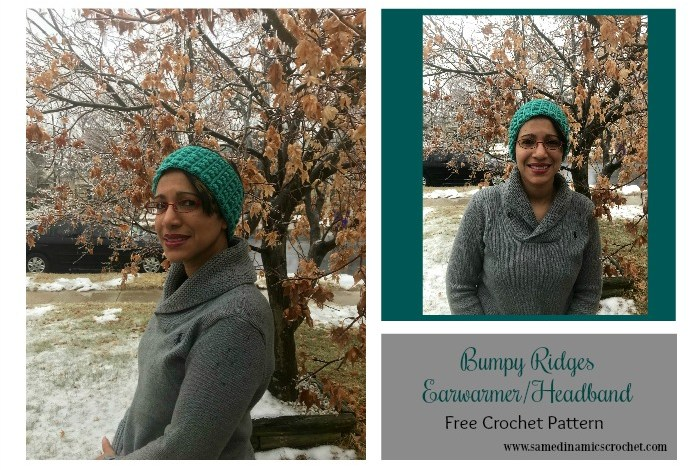 Bumpy Ridges Earwarmer/Headband Free Crochet Pattern