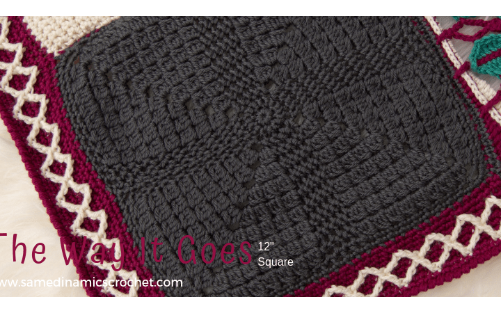 The Way it Goes Square Free Crochet Pattern
