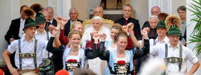 kl-1KNA-Foto - Gaugruppe Chiemgau - Papst