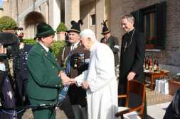 kl-Bei Papst Benedikt
