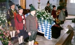 Prankl bei Totenwache Strauss