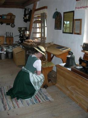 Blick in das Englsperger Bauernhofmuseum