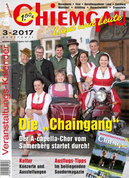 Titel Chiemgau mit Chaingang