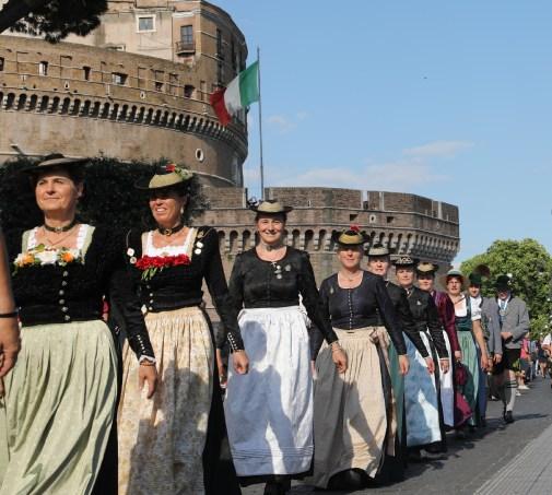 kl-09. Granda Parata zu Ehren der Patrona Bavaria