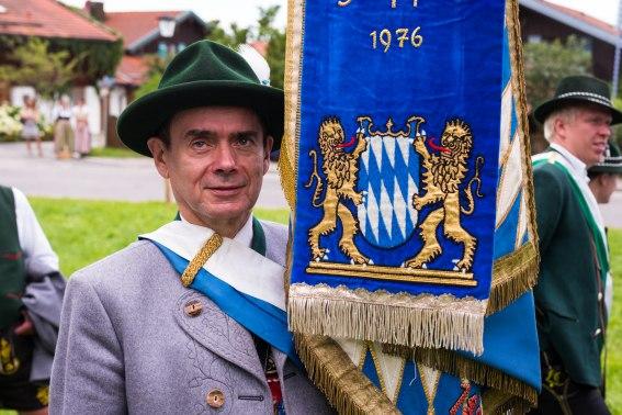 Helmut Amerberger, Vorstand des Vereins der Bayern in Berlin