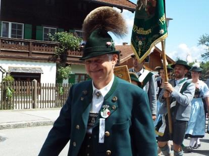 Hans Auer beim Festzug i