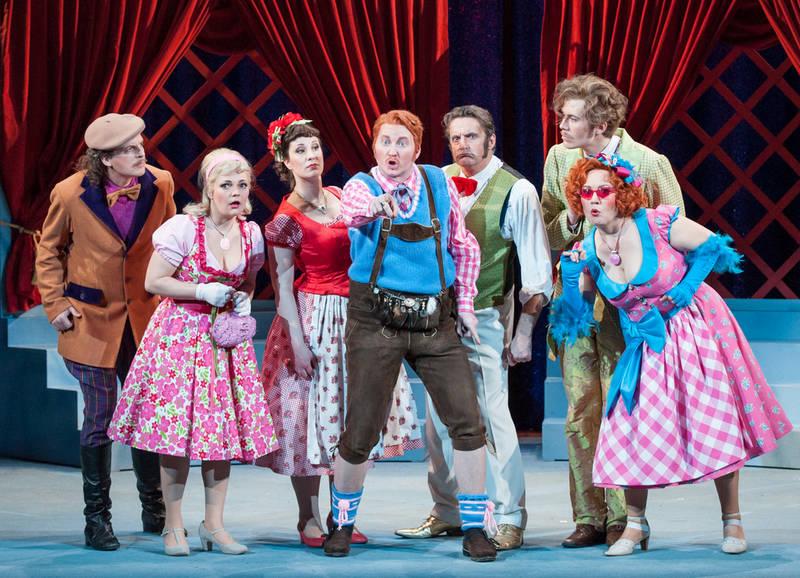 Die lustigen Weiber von Windsor - BO   Freies Landestheater Bayern