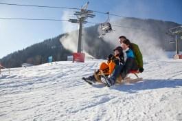 Rodeln und Skifahren in Oberaudorf Hocheck-©Chiemsee-Alpenland Tourismus