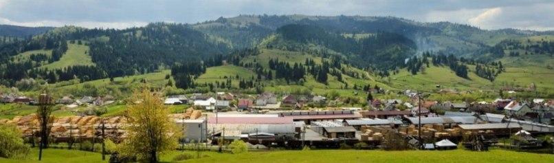 Holzindustrie Silvania in Lunca Ilvei