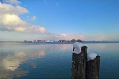 kl-Fraueninsel im Winter -Chiemsee-Alpenland Tourismus