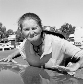 "Katharine Cooper, ""Corrie Saayman, Parking Attendant, Oudsthoorn, South Africa"", 2013 © Sammlung SpallArt"